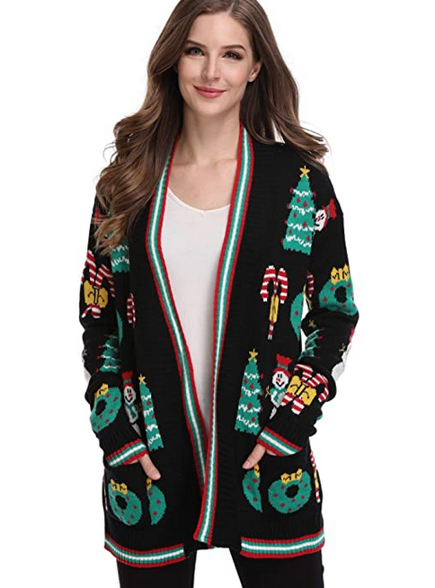 Maternity ugly sweater