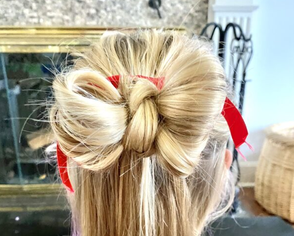Holiday Bun Hairstyle