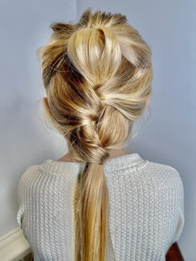 how to do a ponytail twist hairstyle