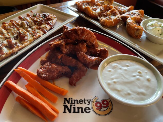 Appetizers at 99 Restaurants