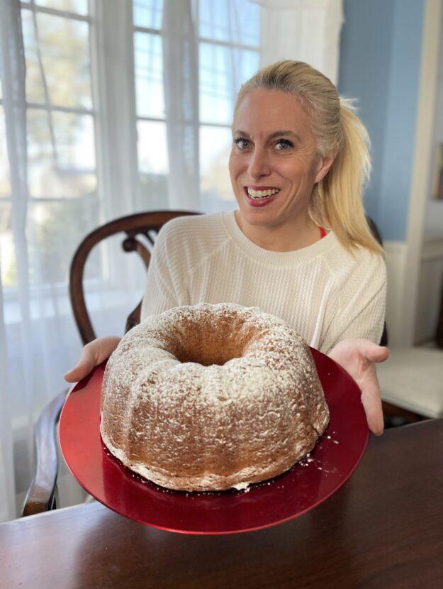 Lemon and Sour Cream Pound Cake