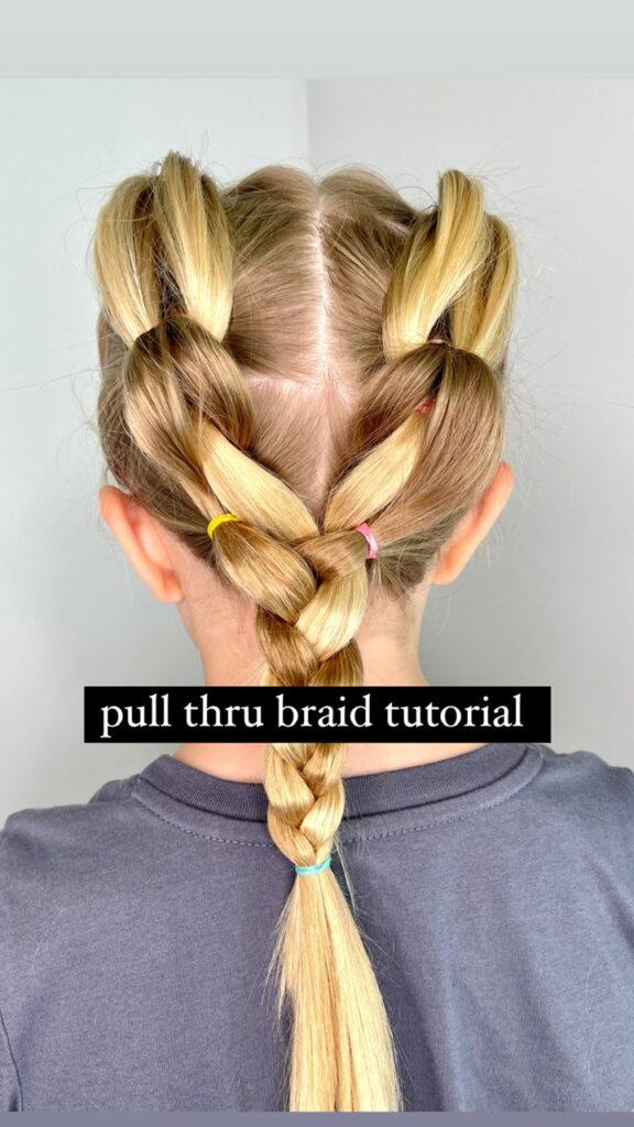 pull thru braid tutorial