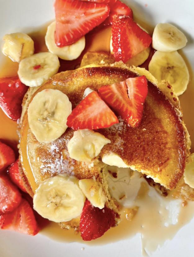 recipe for sour cream pancakes