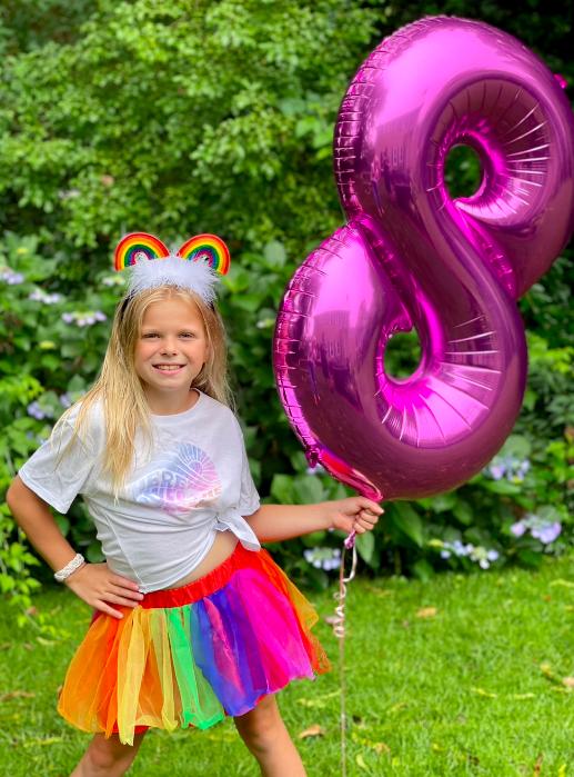 Victoria turns 8