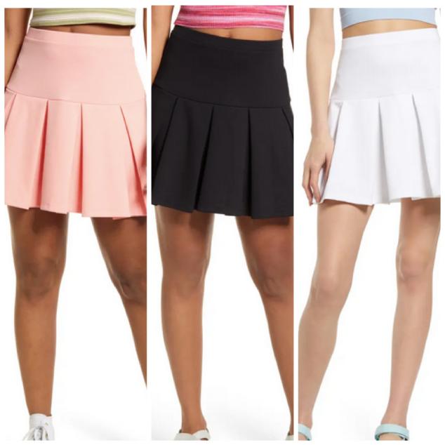 Knit Tennis Skirt