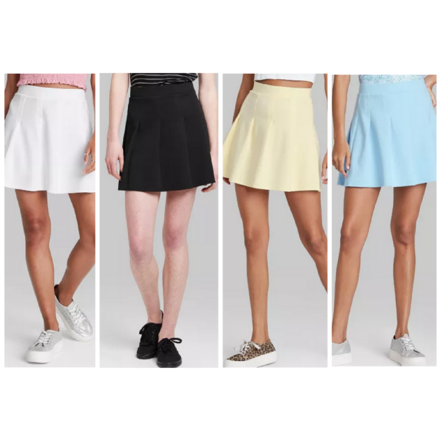 Women's Tennis A-Line Mini Skirt - Wild Fable™