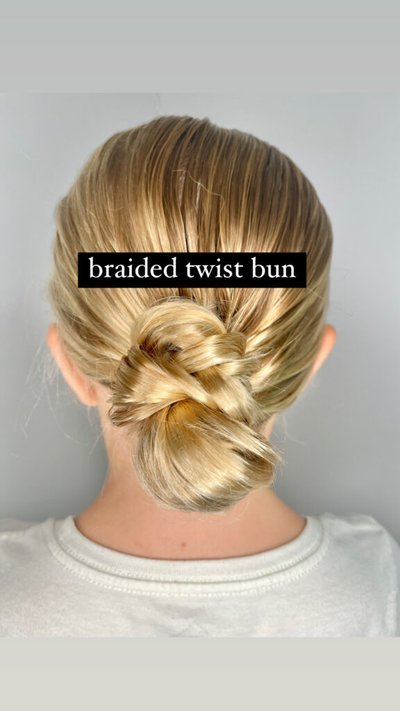 quick updos for long hair