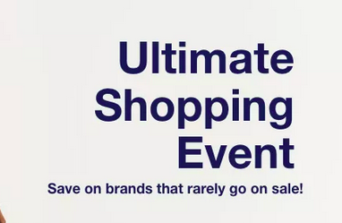 Macy's Ultimate Shopping Event