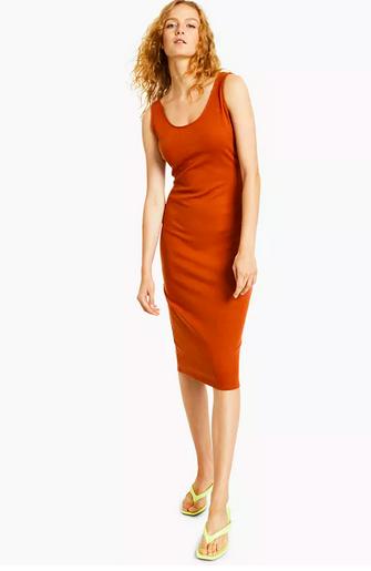 Bar III Ribbed Bodycon Dress, Created For Macy's