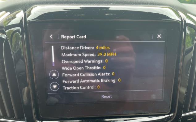 Teen Driver Technology Chevy Traverse