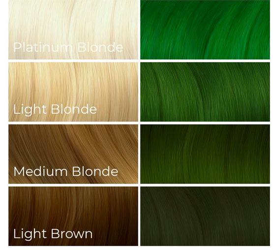 Looking for green semi permanent hair dye