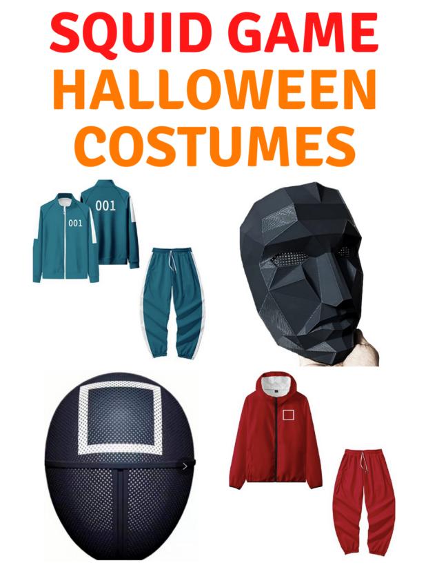 Squid Game Halloween Costumes