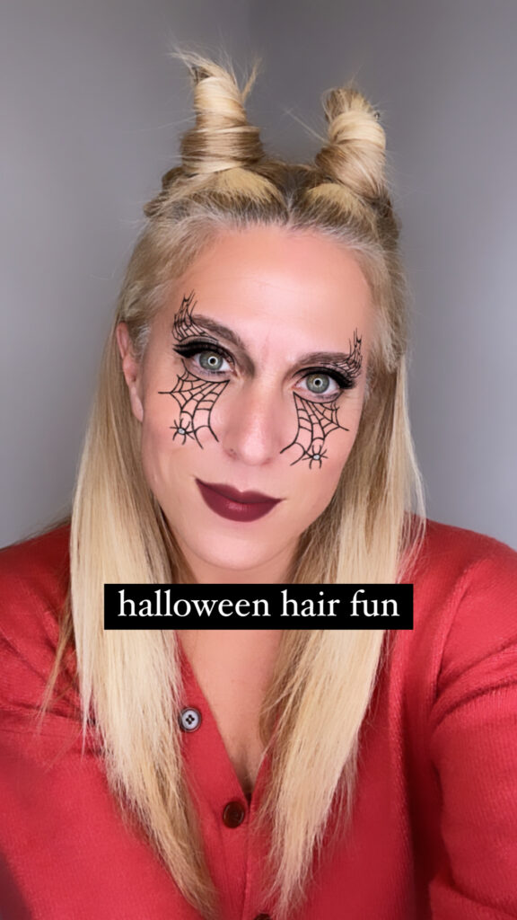 Halloween Fun Hairstyle